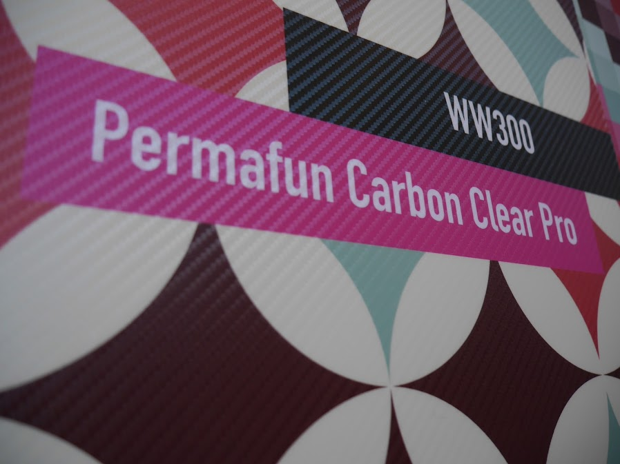 Mactac Permafun Carbon Clear